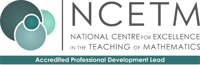 NCETM Professional Development Lead Support Programme icon