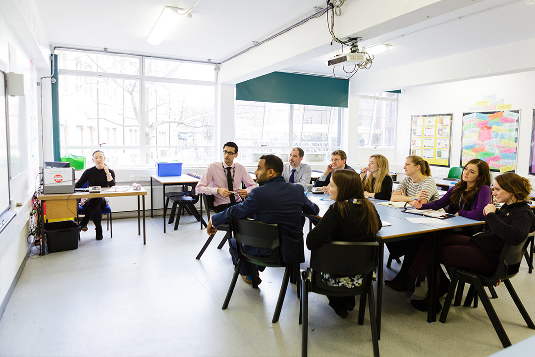 Teacher collaboration supports mixed-attainment classes